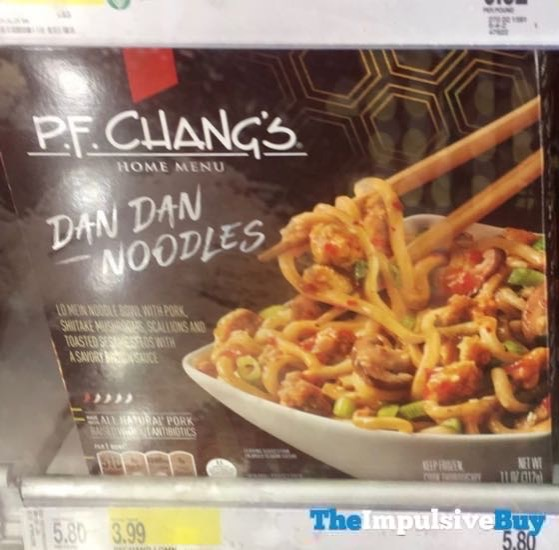 P F Chang s Home Menu Dan Dan Noodles