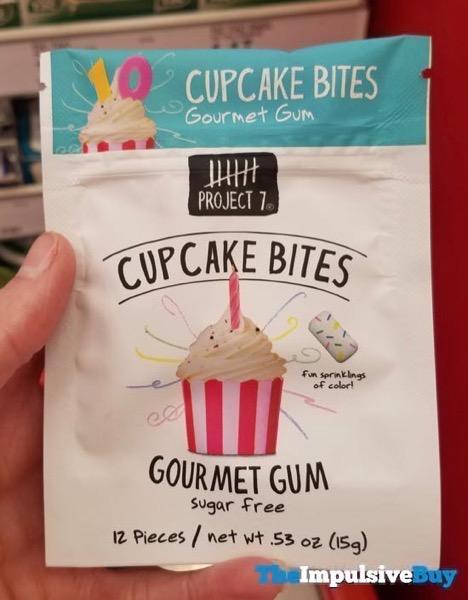 Project 7 Cupcake Bites Gourmet Gum