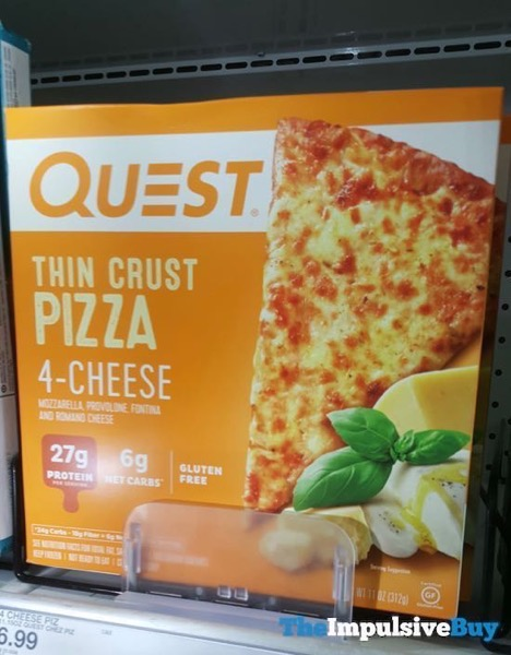 Quest 4 Cheese Thin Crust Pizza
