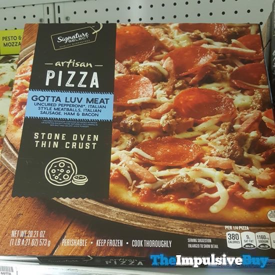Safeway Signature Select Gotta Luv Meat Artisan Pizza