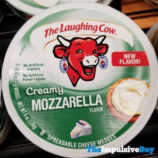 The Laughing Cow Creamy Mozzarella
