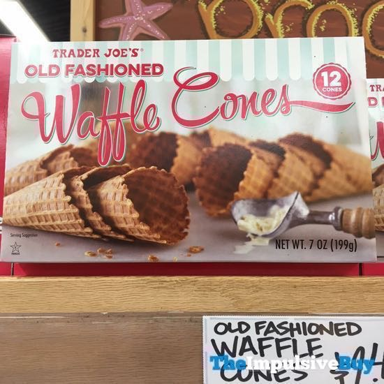 Trader Joe s Old Fashioned Waffle Cones