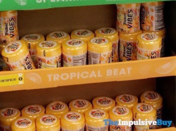 Trident Vibes Tropical Beat Gum