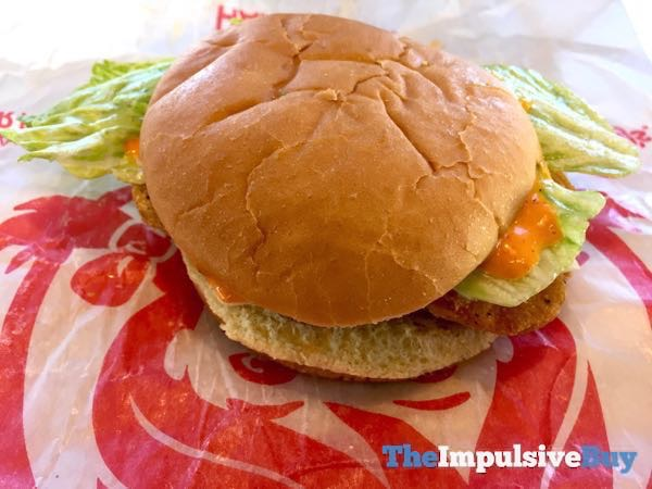 Wendy s Buffalo Ranch Crispy Chicken Sandwich