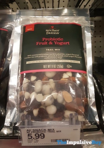 Archer Farms Probiotic Fruit  Yogurt Trail Mix
