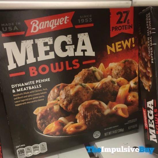 Banquet Mega Bowls Dynamite Penne  Meatballs