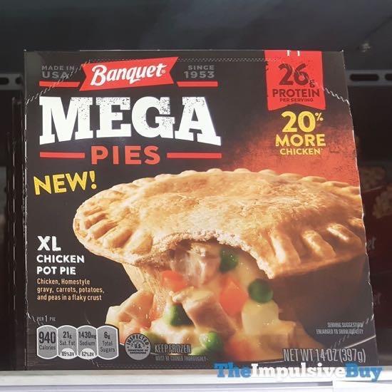 Banquet Mega Pies XL Chicken Pot Pie