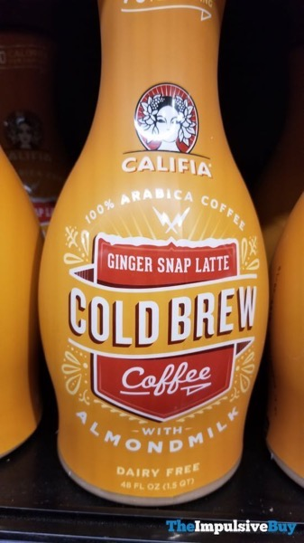 Califia Ginger Snap Latte Cold Brew Coffee