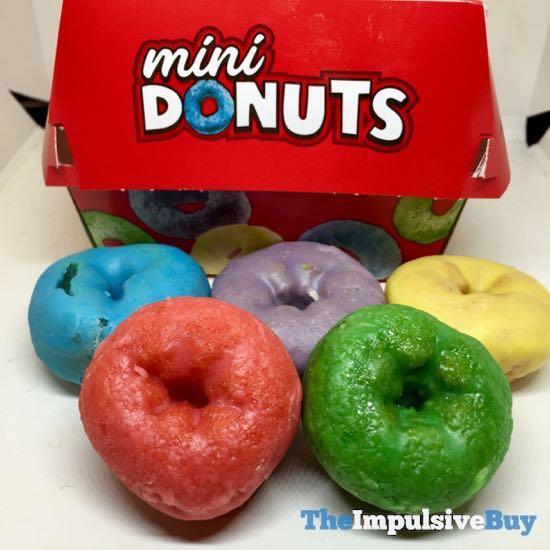 Carl s Jr Froot Loops Mini Donuts 3