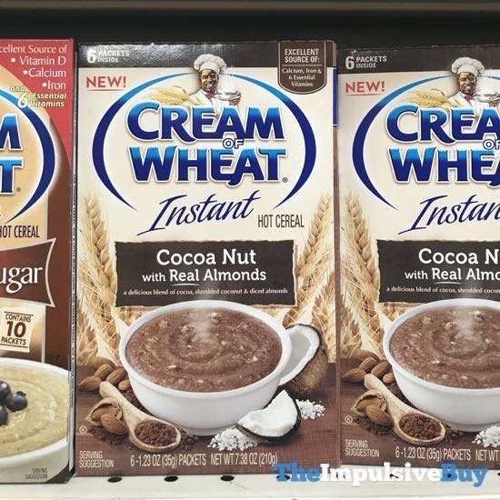 Cream of Wheat Instant Cocoa Nut with Real Almonds