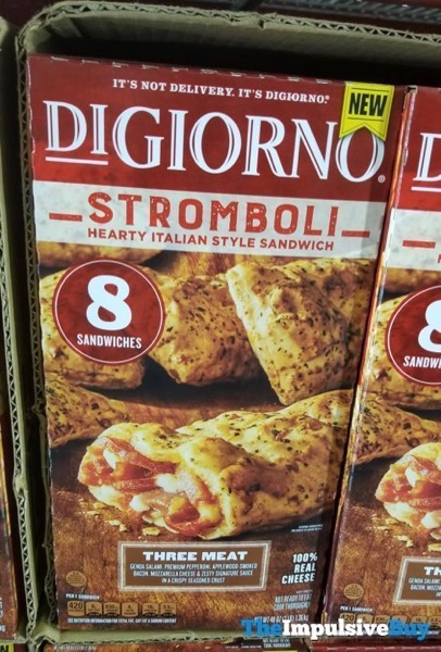 DiGiorno Three Meat Stromboli