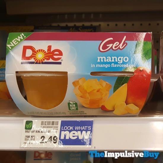 Dole Gel Mango in Mango Flavored Gel