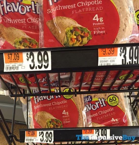 Flavor It Southwest Chipotle Flatbread