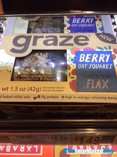 Graze Berry Oat Squares