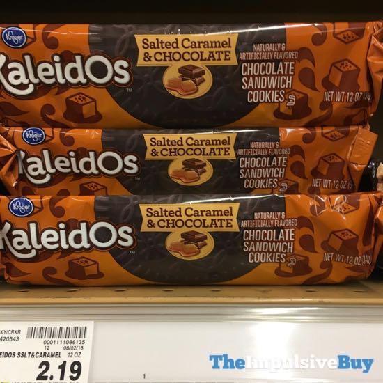 Kroger KaleidOs Salted Caramel  Chocolate Sandwich Cookies