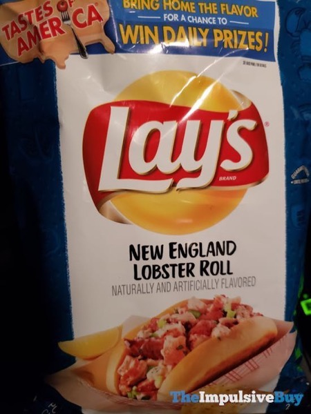 Lay s New England Lobster Roll Potato Chips
