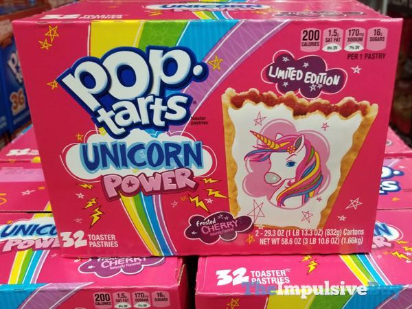 Limited Edition Unicorn Power Pop Tarts