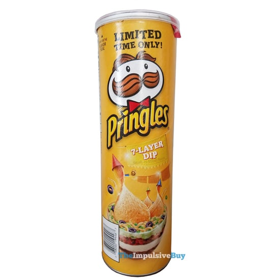 Limited Time Only 7 Layer Dip Pringles