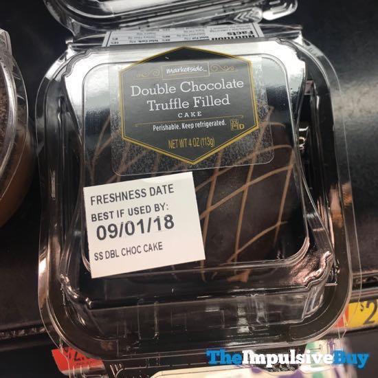 Marketside Double Chocolate Truffle Filled Cake