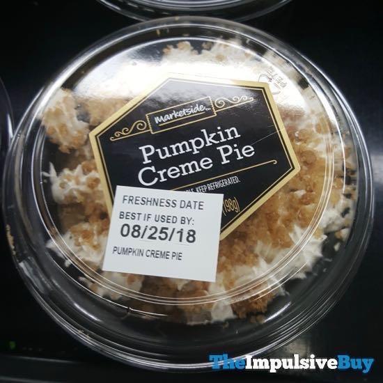 Marketside Pumpkin Creme Pie