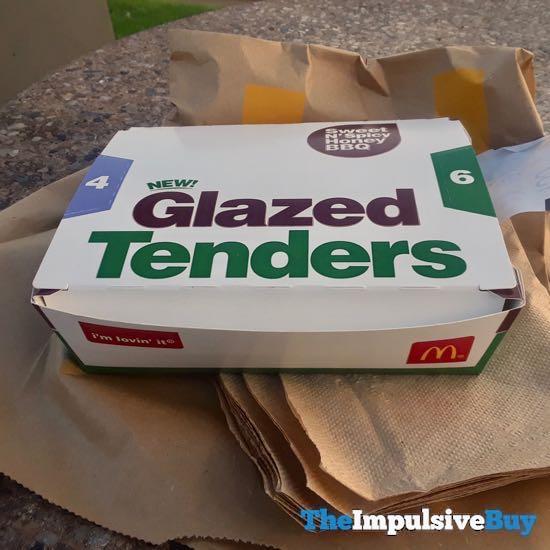 McDonald s Sweet N Spicy Honey BBQ Glazed Tenders
