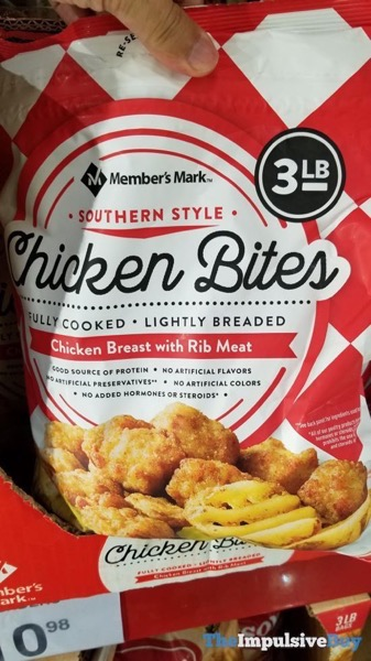 Member s Mark Southern Style Chicken Bites