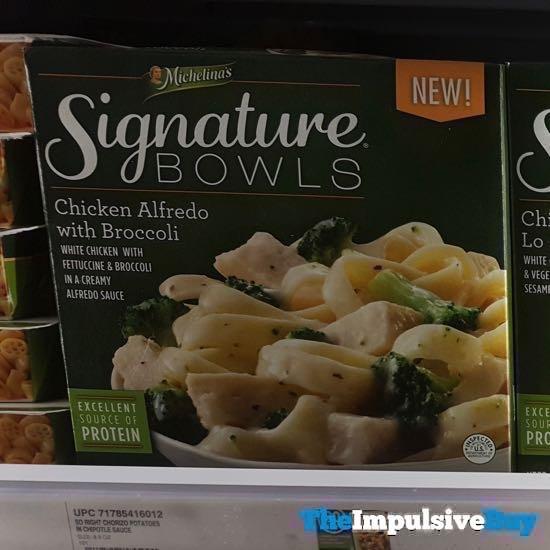 Michelina s Signature Bowls Chicken Alfredo with Broccoli