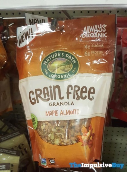 Nature s Path Maple Almond Grain Free Granola