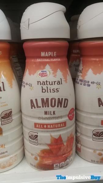 Nestle Coffee mate Natural Bliss Maple Almond Milk Creamer