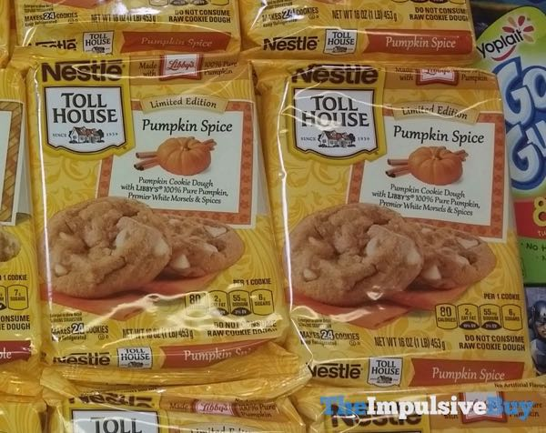 Nestle Toll House Limited Edition Pumpkin Spice Cookie Dough