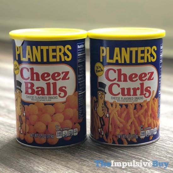 Planters Cheez Balls and Cheez Curls