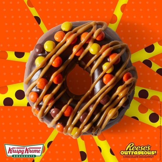 Reeses Out Doughnut