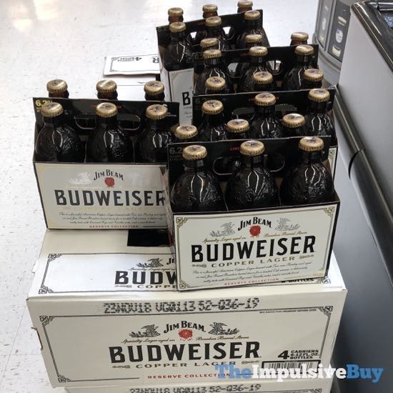 Reserve Collection Jim Beam Budweiser Copper Lager