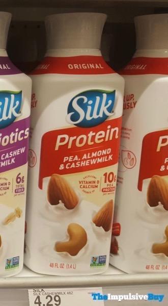 Silk Protein Original Pea Almond  Cashewmilk