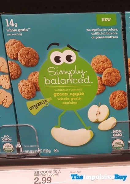 Simply Balanced Green Apple Whole Grain Cookies