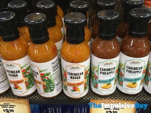 Sprouts Caribbean Mango and Caribbean Pineapple Simmer Sauces