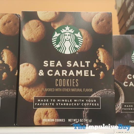 Starbucks Sea Salt  Caramel Cookies