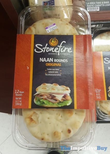 Stonefire Naan Rounds Original