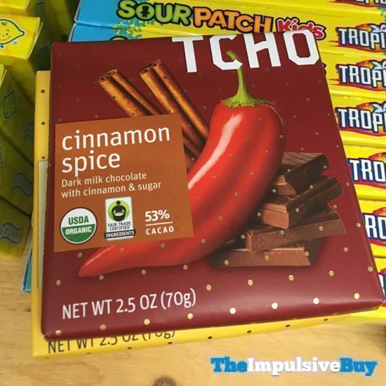 TCHO Cinnamon Spice Bar