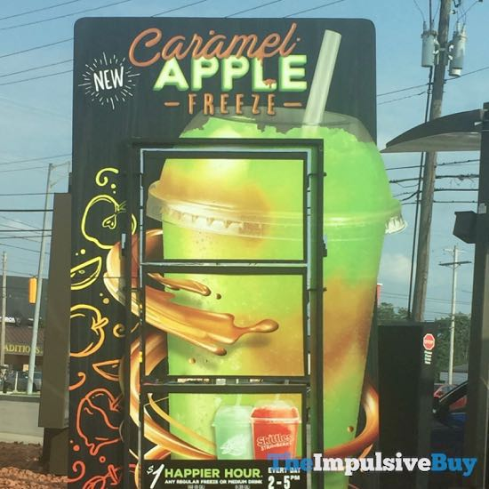 Taco Bell Caramel Apple Freeze