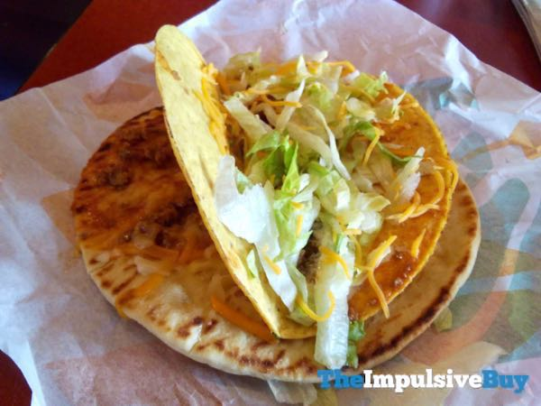 Taco Bell Double Cheesy Gordita Crunch 4