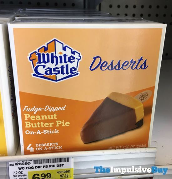 White Castle Desserts Fudge Dipped Peanut Butter Pie On A Stick