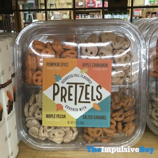 World Market Assorted Fall Flavored Pretzels