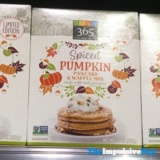 365 Everyday Value Limited Edition Spiced Pumpkin Pancake  Waffle Mix