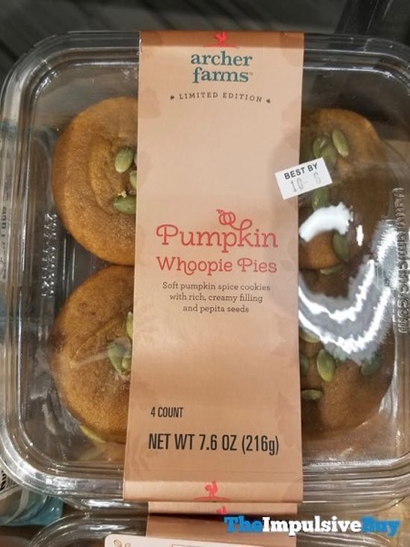 Archer Farms Limited Edition Pumpkin Whoopie Pies
