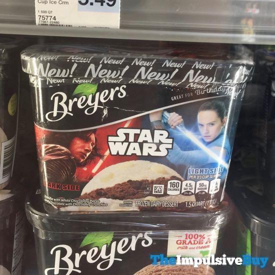 Breyers Star Wars Dark Side Light Side Frozen Dairy Dessert
