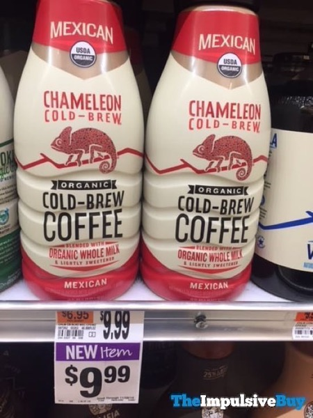 Chameleon Mexican Organic Cold Brew Coffee