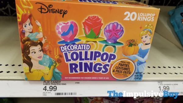 Disney Decorated Lollipop Rings