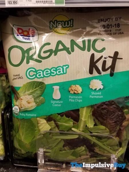 Dole Fresh Caesar Organic Kit