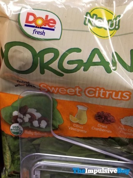 Dole Fresh Sweet Citrus Organic Kit